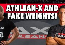 ATHLEAN-X USES 'FAKE WEIGHTS'! Why This Reaction Is NUTS!!
