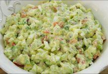 Avocado and Eggs Salad Recipe