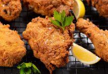 Keto Spicy Chicken Recipe - Low Carb Deep Fried KFC Alternative (2g Carbs)
