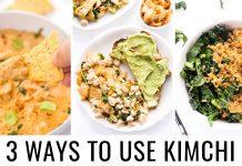 HOW TO USE KIMCHI | 3 vegan recipes