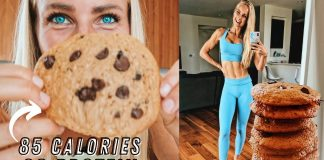 85 CALORIE COOKIES! HIGH PROTEIN LOW CALORIE RECIPE! Healthy delicious anabolic dessert