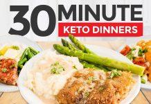30 Minute EASY KETO DINNER RECIPES + KETO MEAL PREP TIPS | Keto Chicken Fried Steak, Meatloaf