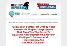 Destroy Depression (tm) - $100 New Aff Bonus