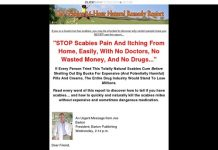 www-Scabies.com - Natural Cure for Scabies!